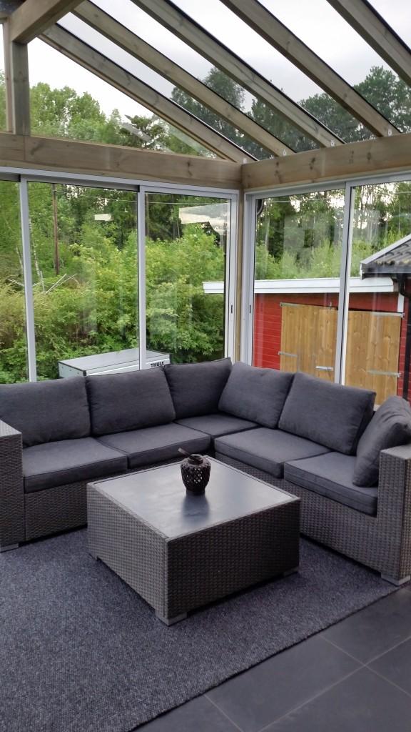 Aluminium Terrace Balcony Glazing Constructions Windex