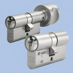 Double-sided cylinder lock, cylinder lock only from inside, or cylinder with turning knob